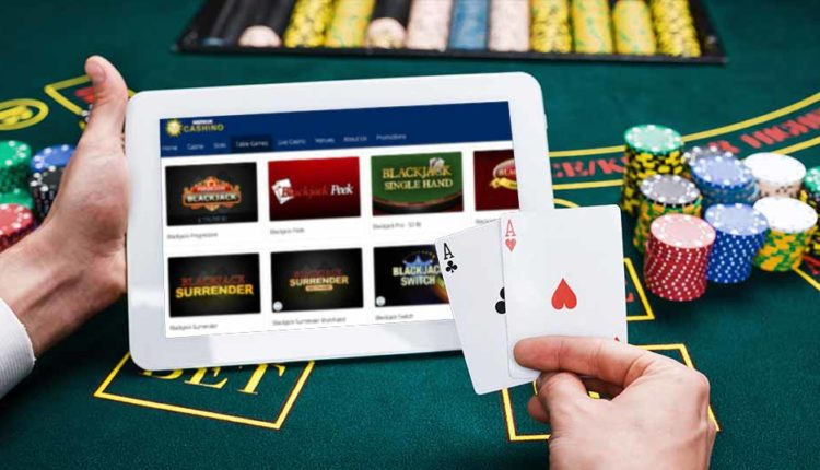 Online Blackjack Card Game